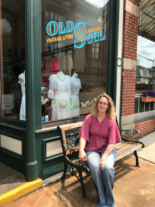 "Katy McClenathan, owner of Old Soul Vintage Attire and Records, said she feels there is an ""open door"" for small business in Mansfield."