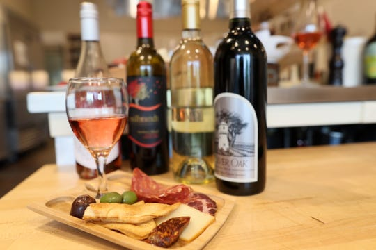 A sampling charcuterie and cheese board using some of the local foods that will be featured at the Craft Food & Wine Festival on June 23, 2019.