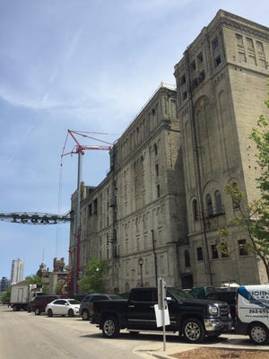 Construction is winding down on the long-delayed Brewery Lofts project at downtown Milwaukee's former Pabst brewery.