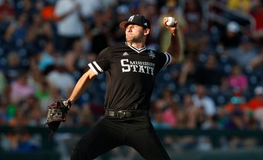 Mississippi State left-hander Ethan Small is the first college pitcher the Brewers have picked since 2011.