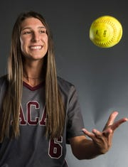 All-Metro athlete Alabama Christian's Haley Pittman poses for a portrait in Montgomery, Ala., on Wednesday, May 29, 2019.