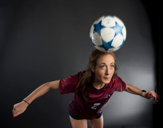 All-metro athlete Montgomery Academy's Tara Katz poses for a portrait in Montgomery, Ala., on Tuesday, June 4, 2019.