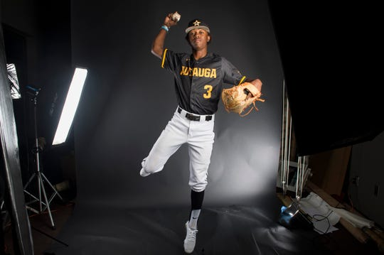 All-metro athlete Autauga's Kyrin Long poses for a portrait in Montgomery, Ala., on Tuesday, June 4, 2019.