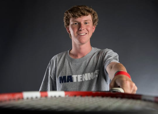 All-Metro athlete Montgomery Academy's James Torbert poses for a portrait in Montgomery, Ala., on Thursday, May 23, 2019.