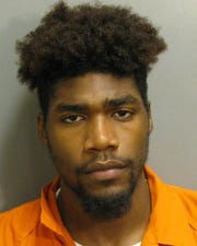 Charles Fuller, 23, was charged with second-degree robbery.