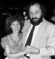 Hedy Weinberg, executive director of the American Civil Liberties Union of Tennessee, and her dad, Arthur Weinberg, at a friend's wedding in the early 1980s.