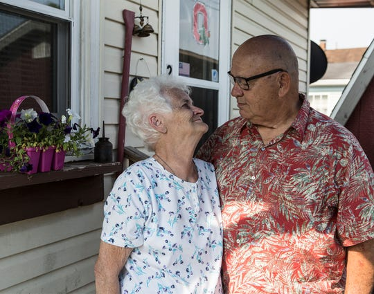 Grace Goodwin is reunited with her brother, Paul King, after being separated for 70 years.
