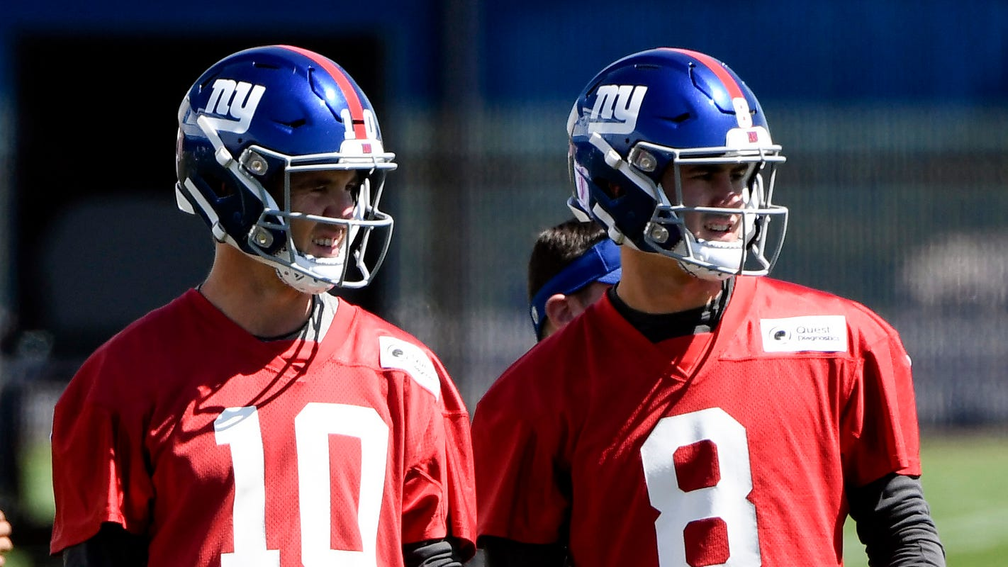 a11f87e1f New York Giants: Daniel Jones already off and running in minicamp