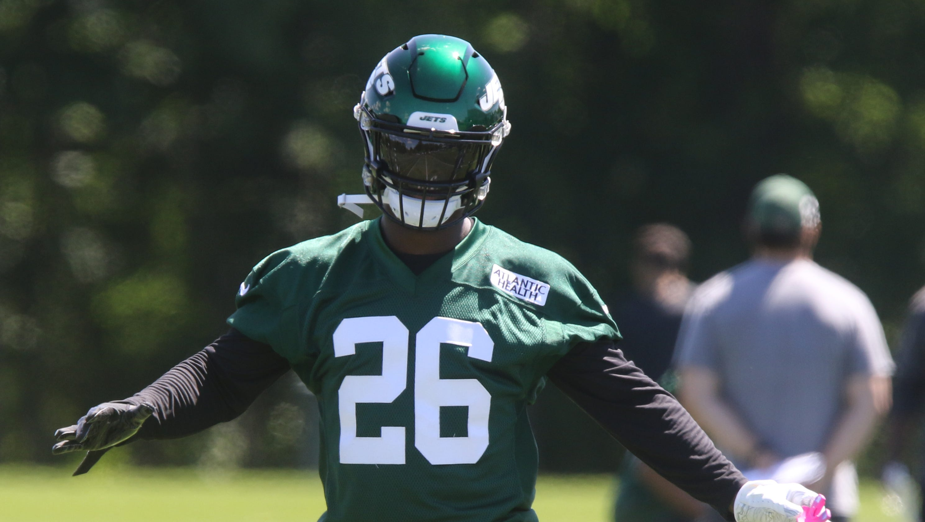 huge selection of 89b82 8c25f NY Jets training camp preview: Le'Veon Bell and the running ...