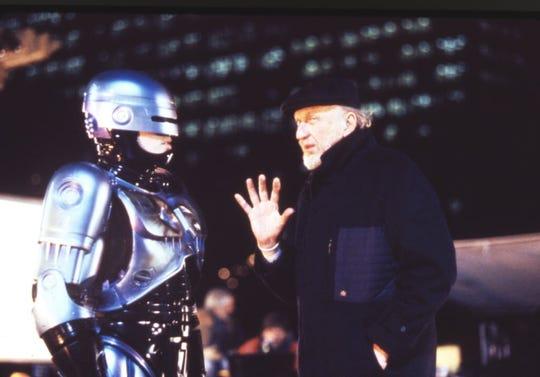 """Peter Weller as """"Robocop"""""""