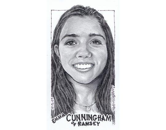 Emma Cunningham, Ramsey softball