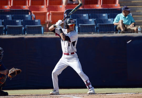 New Mexico State's Joseph Ortiz was selected in the fourth round of the MLB Draft by the Baltimore Orioles on Tuesday.