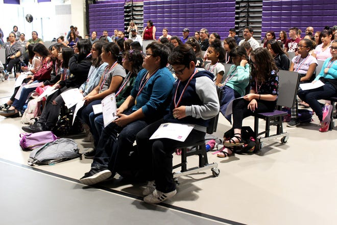 The 2019 Girls Who Code graduation ceremony held at Hermosa Heights Elementary School.