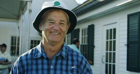"""Bill Murray is featured in """"Loopers: The Caddie's Long Walk."""""""