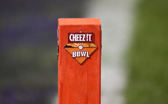 TCU Horned Frogs against California Golden Bears during the Cheez-It Bowl on Dec. 26 at Chase Field in Phoenix, Ariz.