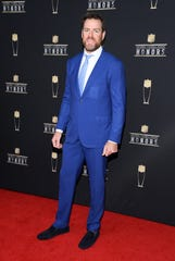 ATLANTA, GEORGIA - FEBRUARY 02: NFL player Carson Palmer attends the 8th Annual NFL Honors at The Fox Theatre on February 02, 2019 in Atlanta, Georgia. (Photo by Jason Kempin/Getty Images)