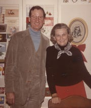 Frank and Helen Walton in 1983