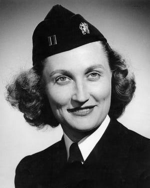 Lebanon native and Lieutenant Helen Barbara Olseski of the  U. S. Navy Nurse Corps 1945