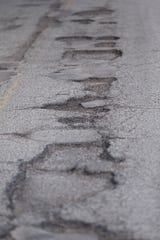 Wernle Road from South 13th Street to South 23rd is badly in need of repairs.