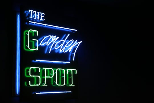 The Garden Spot, a bar in the back of the Blue Garden in Dallas on June 4, 2019. The restaurant re-opened last month after being closed for about 15 years.