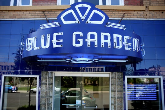 The Blue Garden in Dallas on June 4, 2019. The restaurant re-opened last month after being closed for about 15 years.
