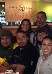 Manuel Anthony Vasquez (in rear) poses for a family portrait in this undated photo. The 48-year-old man died a June 2, 2019, four days after he was found unresponsive in a Monterey County Jail cell, his family says.