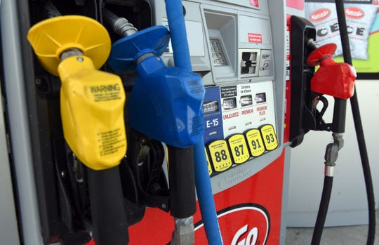 E-15 gasoline is available at the Kum and Go on W 11th Street on Tuesday, June 4 in Sioux Falls.