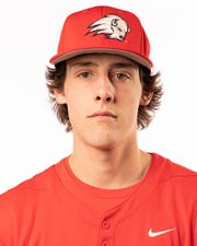 Dixie State pitcher Jayden Murray.