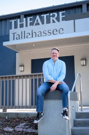 """Brian Davis artistic director of Theatre Tallahassee is directing """"Leading Ladies,"""" which opened June 6 and will run until June 23rd."""