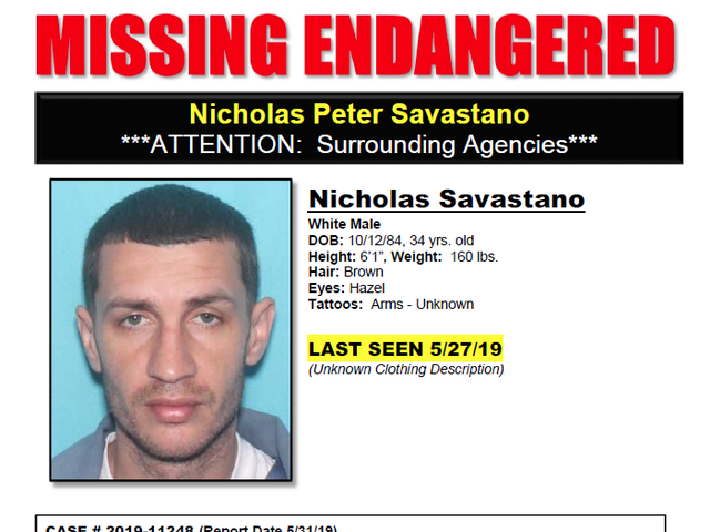 Nicholas Peter Savastano missing in Port St  Lucie, considered