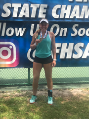 Jensen Beach's Ellie Schoppe is a finalist for TCPalm's All-Area Girls Tennis Player of the Year.