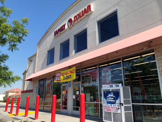 Family Dollar located at 1420 W. Tulare Ave. in Tulare on Tuesday, June 4, 2019.