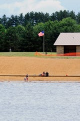 Red Sands Beach at South Wood County Park is pictured in June 2013.