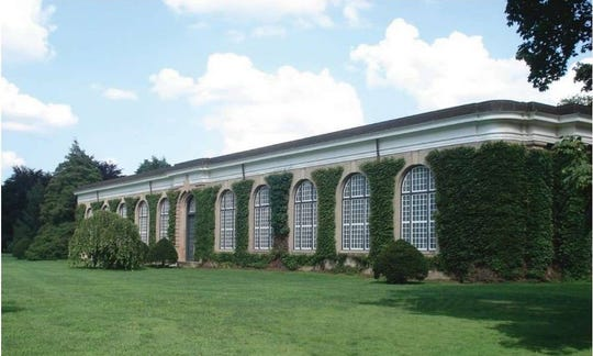 The Orangerie as it exists today. It will become a new arts center.