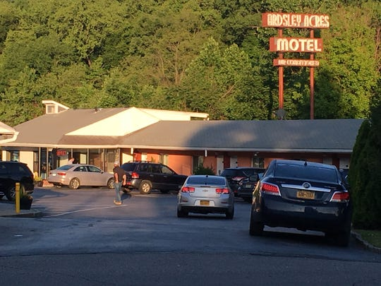 Two police officers were shot and a suspect was killed overnight at the Ardsley Acres Motel, Tuesday, June 4. 2019.
