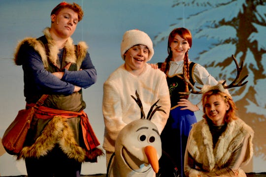 """Disney Frozen Jr."" opens at 7 p.m. tonight and 1 p.m. & 5 p.m. Saturday at the Wichita Theatre. The musical continues from June 14 to 16, and June 21 & 22. There will also be a special Crystal Palace After Party at the Stage 2 Dinner Theatre running after each performance - excluding June 21. Favorite characters Kristoff (Aidan Neely), Olaf (Ben Austin), Anna (Emily Gill) and Elsa (Annie Scales) take fans of the animated film along familiar adventures."