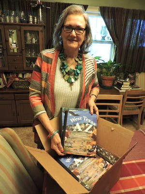 A box of books fresh from the publisher is Glenna Decker's proof that persistence can help dreams come true for anyone trying to find success as an author. Decker, who lives in Goree, found her publisher just down the road in Stamford.