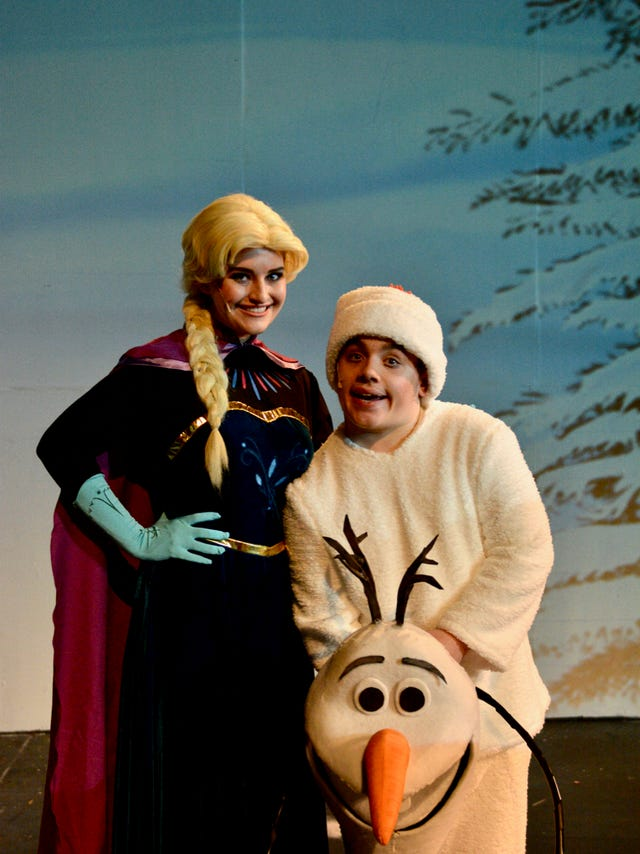Young talent in Wichita Theatre's 'Frozen Jr ' top notch