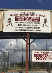 One of the Belmont Heights Little League fields is named after Dwight Gooden.