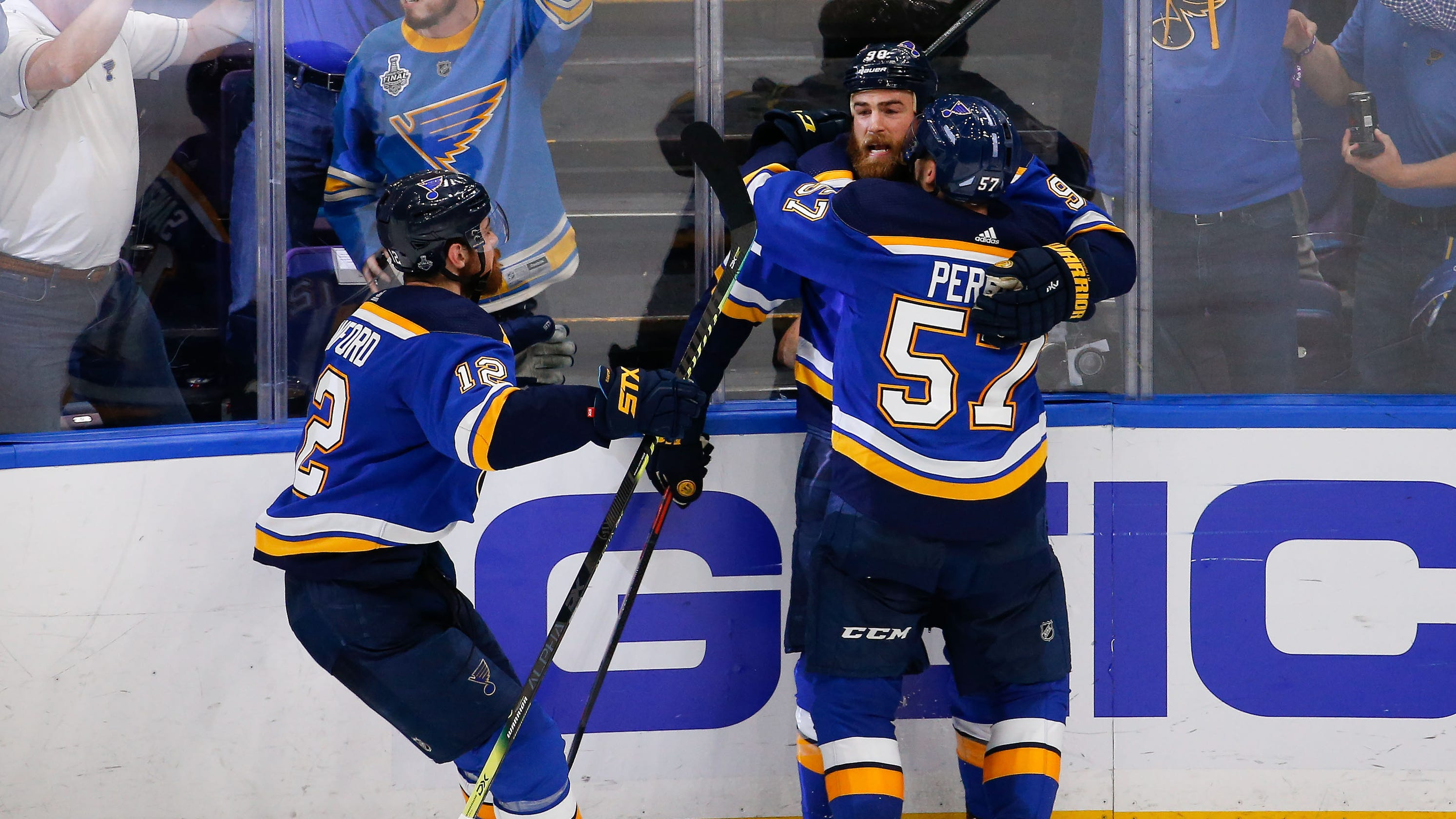 Stanley Cup 2019: Blues Beat Bruins In Game 4 To Even