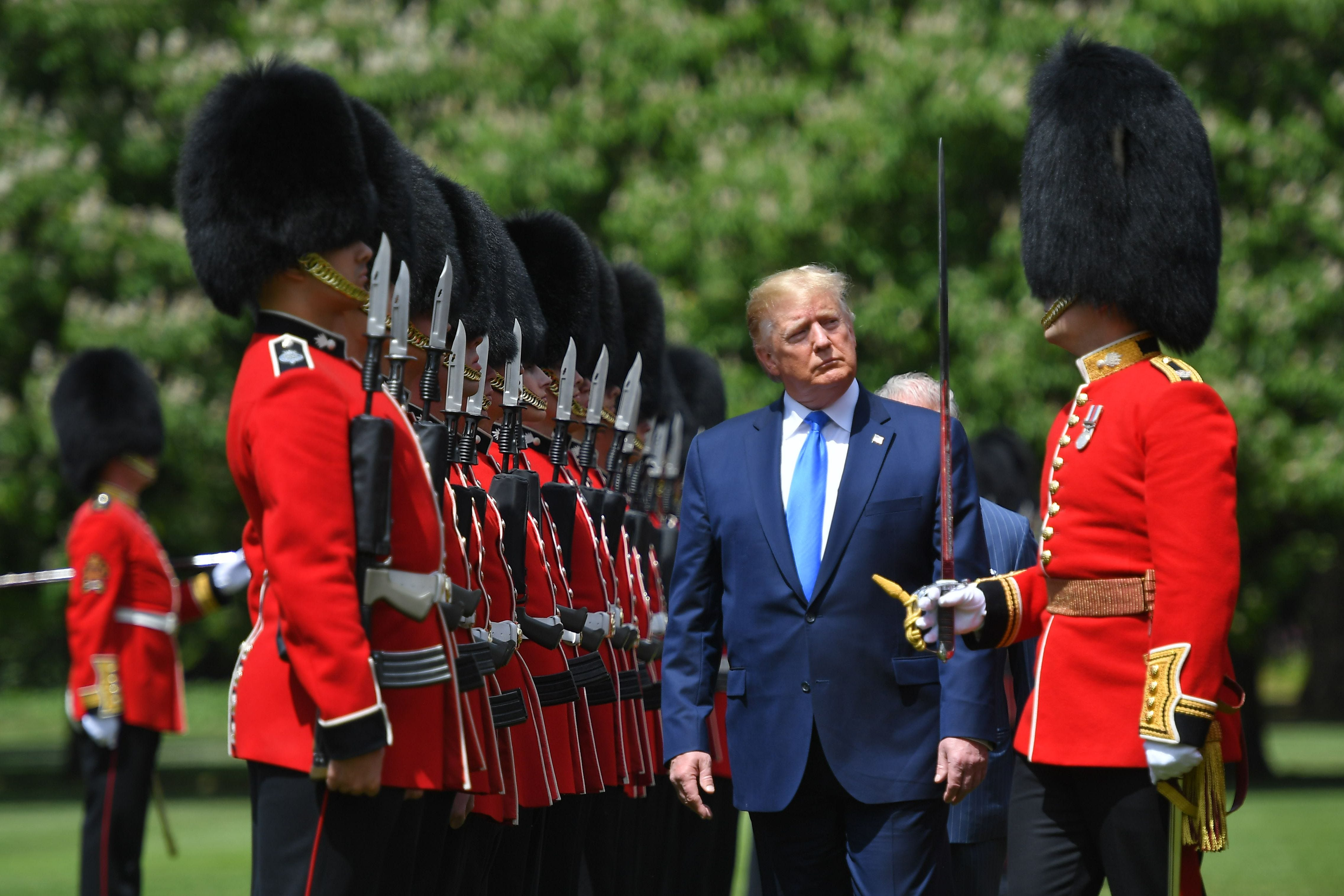 U.K. state visit turns from pomp and pageantry to foreign policy