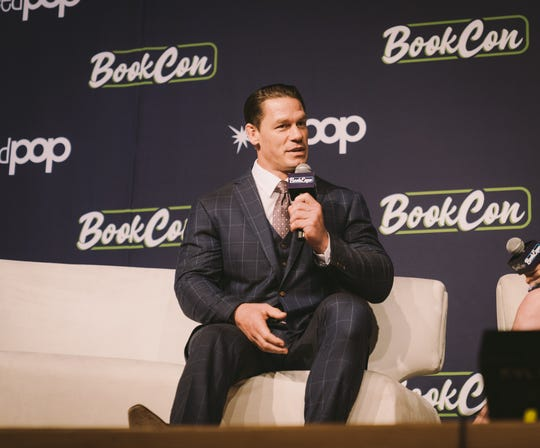 John Cena discusses his children's books at BookCon 2019 in New York.