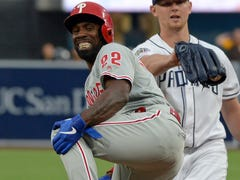 Phillies lose outfielder Andrew McCutchen for remainder of season with torn ACL