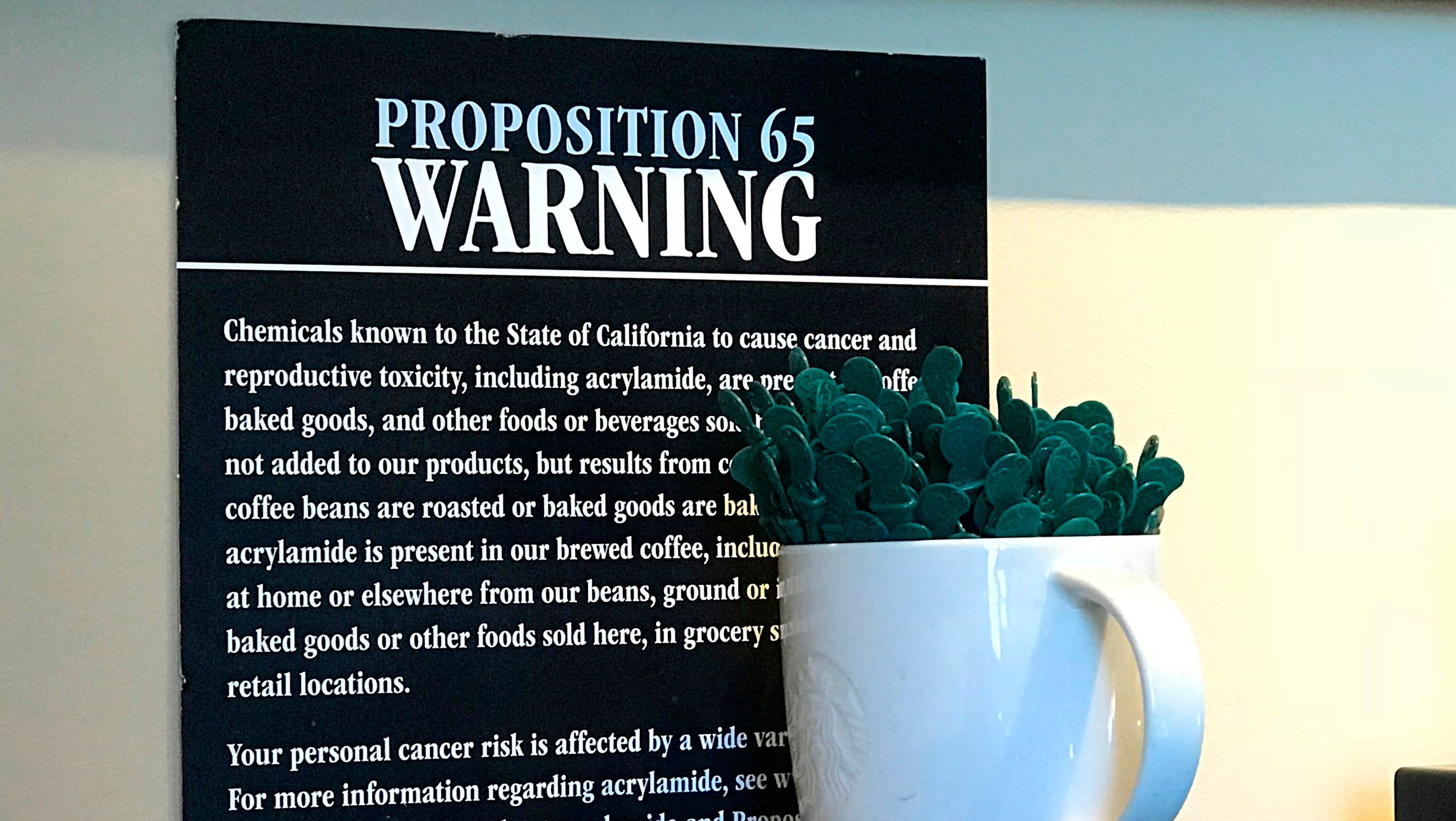 Does coffee cause cancer? California backtracks on acrylamide warnings