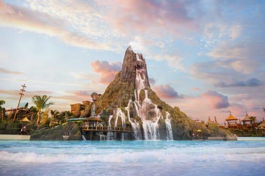Universal Studios Volcano Bay water theme park