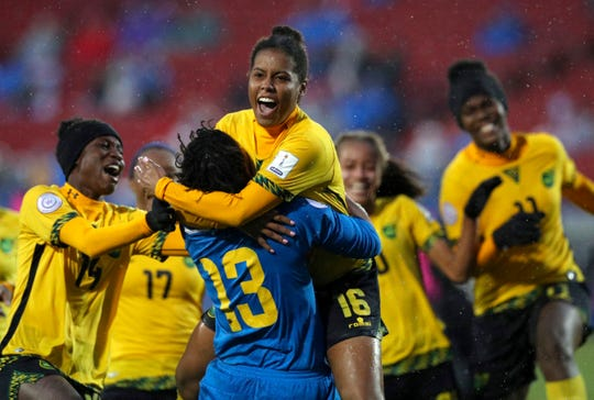 World Cup: Bob Marley's daughter saves Jamaican women's