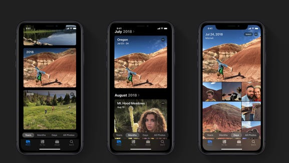 Apple's new Photos app for iOS13