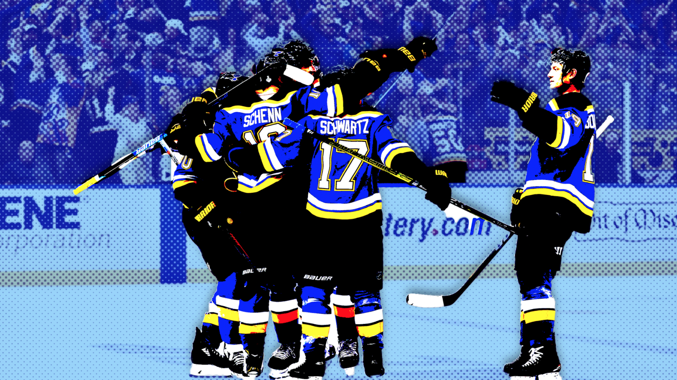 Stanley Cup: Blues even back and forth series