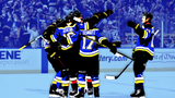 SportsPulse: They can finally play Gloria at home. The St. Louis Blues tied the series  at two and it looks like this thing could go seven.