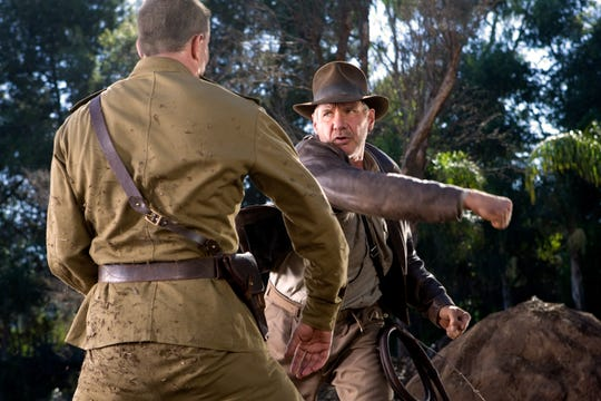 """Harrison Ford, seen here in """"Indiana Jones and the Kingdom of the Crystal Skull,"""" dons the iconic fedora again early next year for a fifth movie as the globetrotting adventurer."""